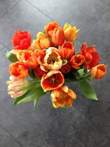 Tulipes en bouquet